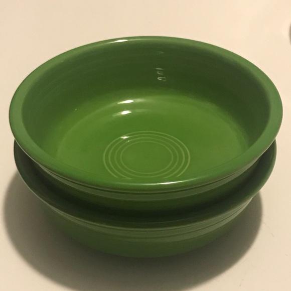 Fiesta Ware Shamrock Green Bowls